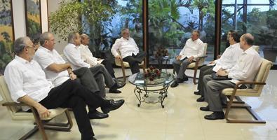 Sostiene Raúl encuentro con Lula