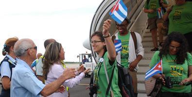 Arribó la XXII Caravana de la Amistad Estados Unidos-Cuba