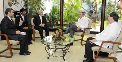 Recibe Raúl a Vicepresidente Primero de Irán