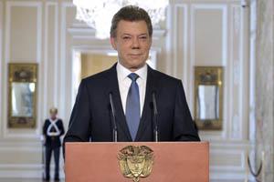 Santos anuncia oficialmente el inicio de conversaciones con las FARC-EP
